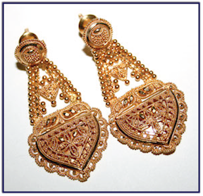24 karat gold earrings Gold Guide